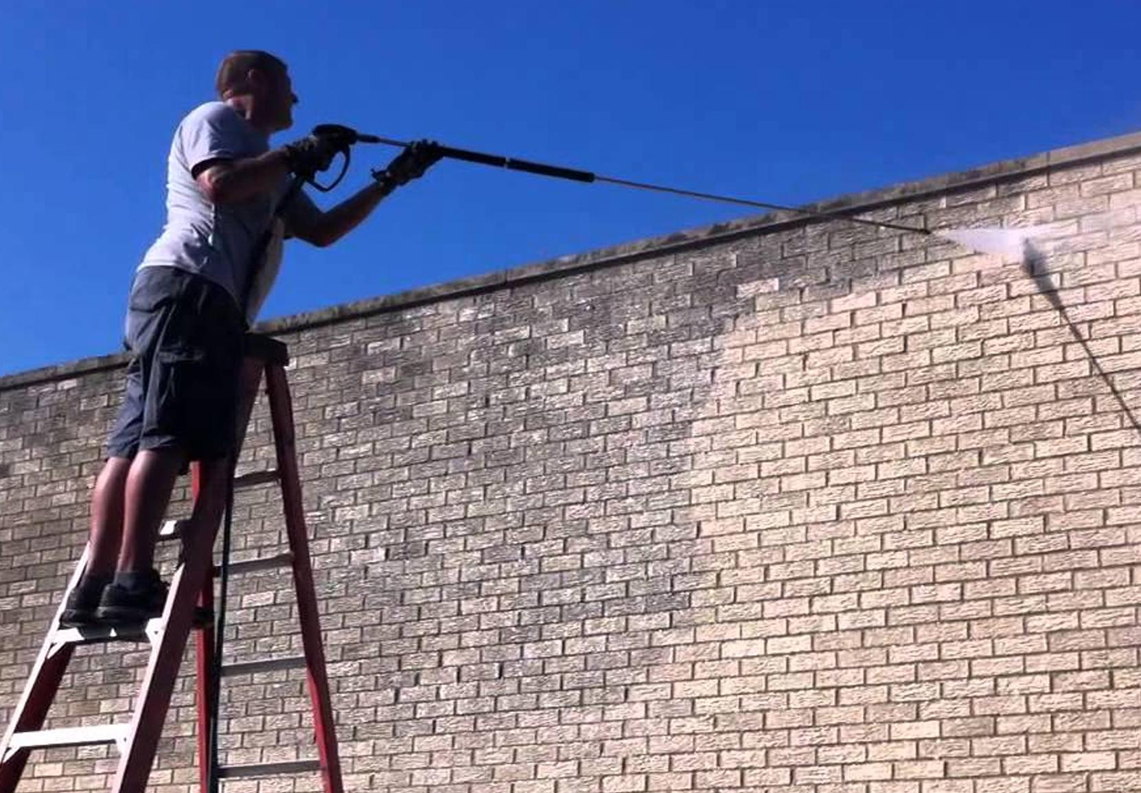 čistenie fasády