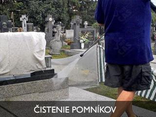 čistenie pomníkov