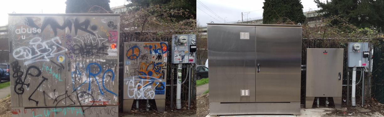 odstraňovanie grafitov